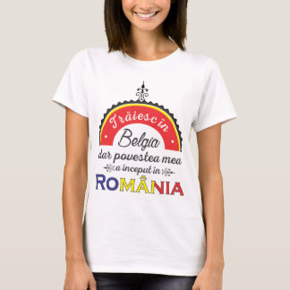 Traiesc in Belgia T-Shirt