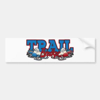 Trail Breaker Bumper Stickers