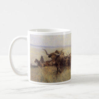 Trail Herd to Wyoming by WHD Koerner Coffee Mug