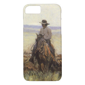 Trail Herd to Wyoming by WHD Koerner iPhone 7 Case