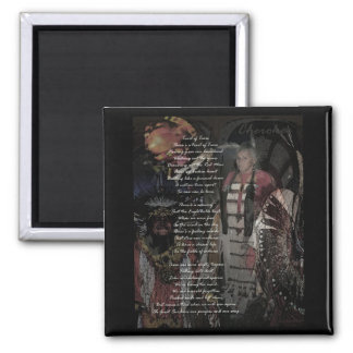 trail of tears square magnet