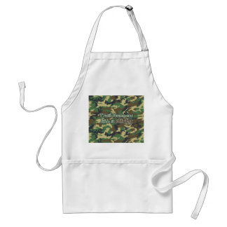 Trail Runners Like it Dirty - Camo Apron