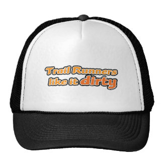 Trail Runners Like it Dirty Mesh Hat