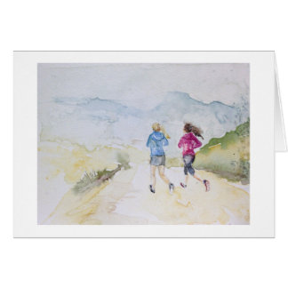 Trail Runners No. 1 note card