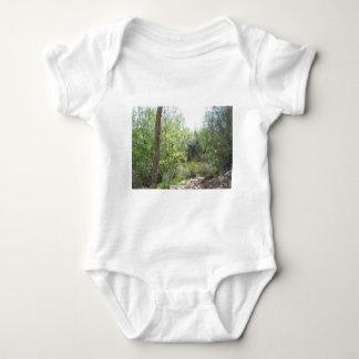 Trail Through the Trees Baby Bodysuit