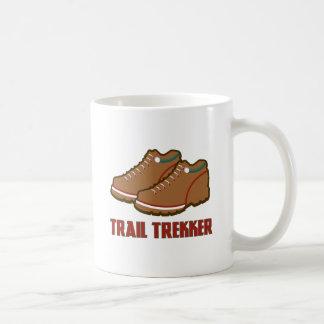 Trail Trekker Classic White Coffee Mug