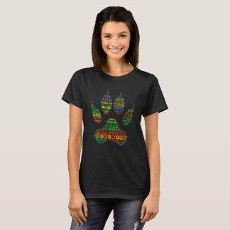 TrailDog Shirt Paw2