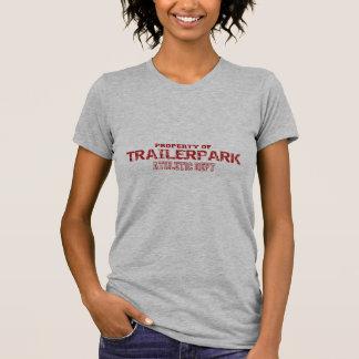 Trailer Park Athletic Dept Design Tee Shirt