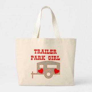 Trailer Park Girl Canvas Bag