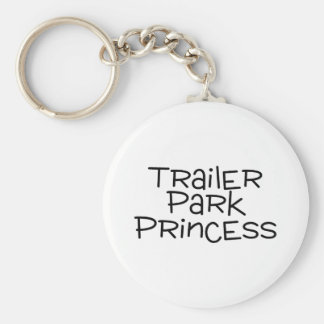 Trailer Park Princess Key Ring