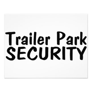 Trailer Park Security Invitation