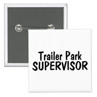 Trailer Park Supervisor 15 Cm Square Badge
