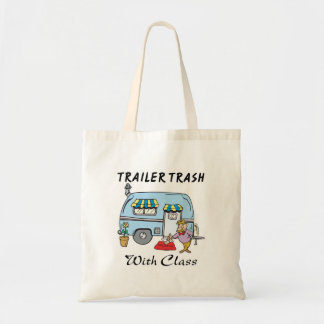 trailer park trash with class canvas bags