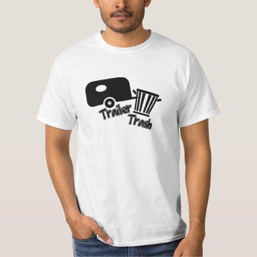 Trailer Trash! B&W Icons T-Shirt