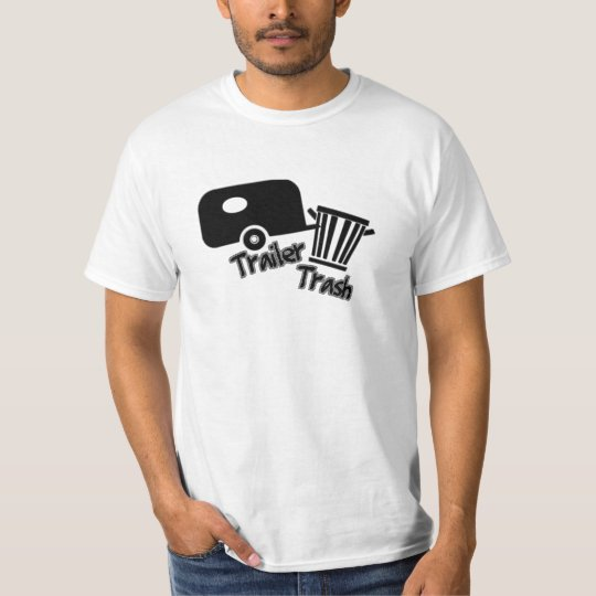 Trailer Trash! B&W Icons T-Shirt