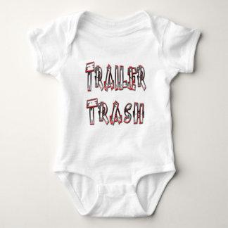 Trailer Trash Baby Bodysuit