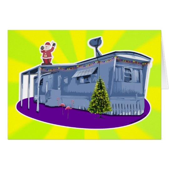 Trailer Trash Christmas Card
