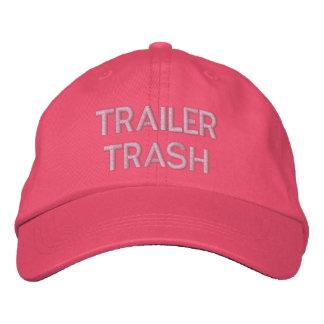 TRAILER TRASH EMBROIDERED HAT