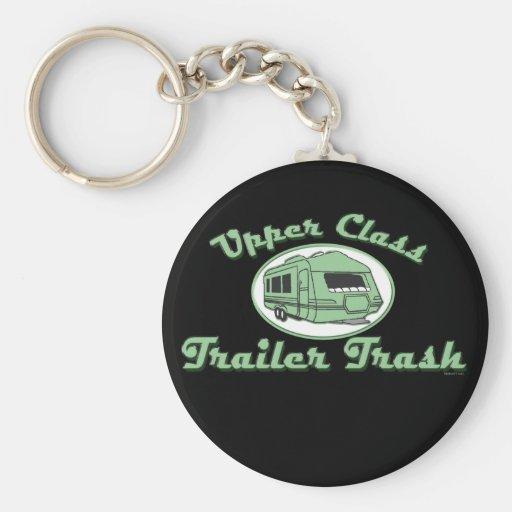 Trailer Trash Keychain