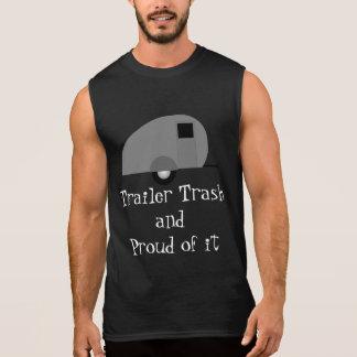 trailer trash sleeveless shirt