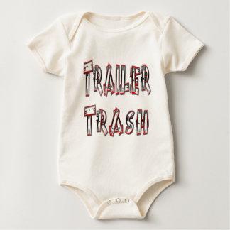 Trailer Trash Baby Bodysuits