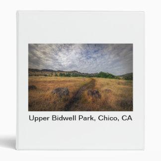 Trailhead, Upper Bidwell Park, Chico, Ca Vinyl Binder