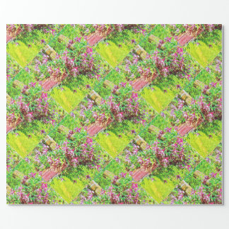 Trailing Clematis Wrapping Paper