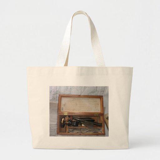 Trailing Log Tote Bag