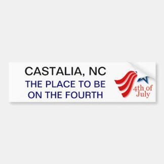 Trailing Star Castalia July Fourth Bumper Sticker