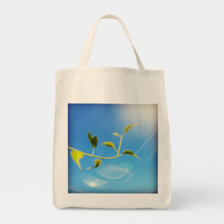 Trailing Vine Themed Grocery Tote Grocery Tote Bag