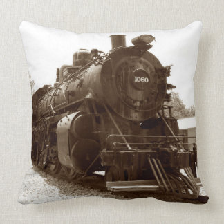 Train 10-12 Image Options Pillow