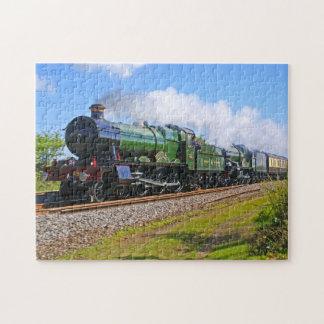 Train 20 jigsaw puzzle