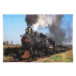 Train 2 Placemat
