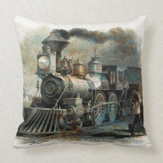 Train 31-32 Image Options Pillow