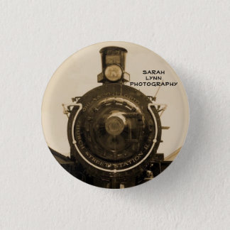 Train 3 Cm Round Badge