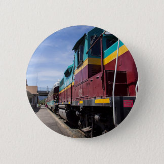 Train 6 Cm Round Badge