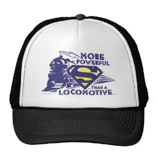 Train and Logo Trucker Hats