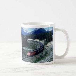 Train Basic White Mug