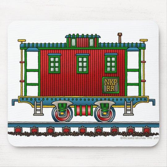 Train Caboose Car Mouse Pad