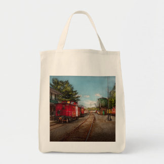 Train - Caboose - Tickets Please Canvas Bag