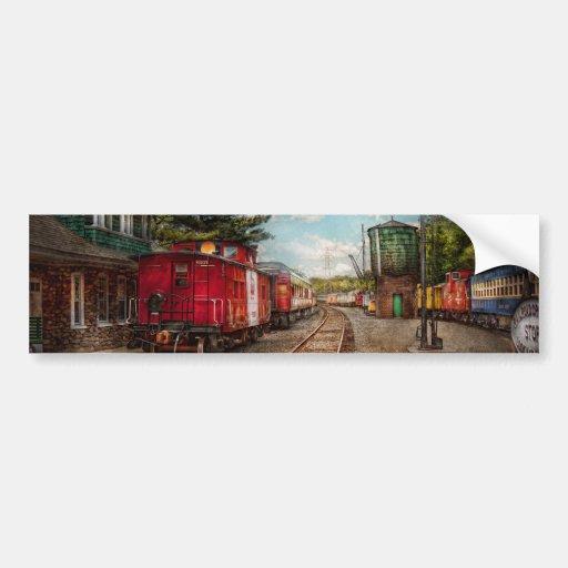 Train - Caboose - Tickets Please Bumper Stickers