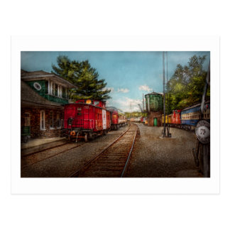 Train - Caboose - Tickets Please Postcard