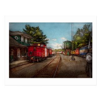 Train - Caboose - Tickets Please Postcard