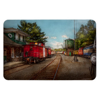 Train - Caboose - Tickets Please Vinyl Magnet