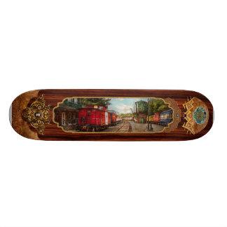 Train - Caboose - Tickets Please Skate Board Deck