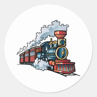 Train Classic Round Sticker