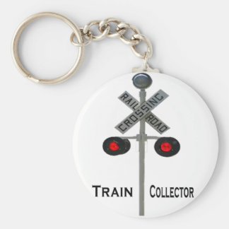Train Collector Keychain