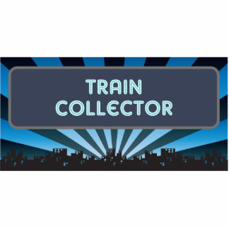 Train Collector Marquee Cut Outs