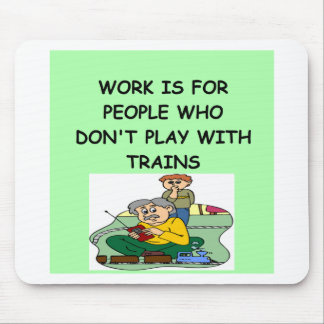 TRAIN collector Mouse Pad