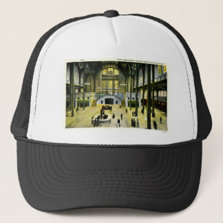 Train Concourse  Chicago Illinois Union Station Trucker Hat